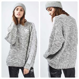 Chunky Knit Jumper by Adidas Originals